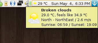 I'm surprised how accurate this applet is. Wish the temperatures would go down.