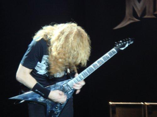 Dave Mustaine (Megadeth)  (via  Photos from ramkumar.shankar )