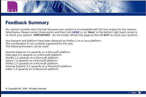 how silly: I need Windows to do an online numerical test. Boo! (via Photos from ramkumar.shankar)