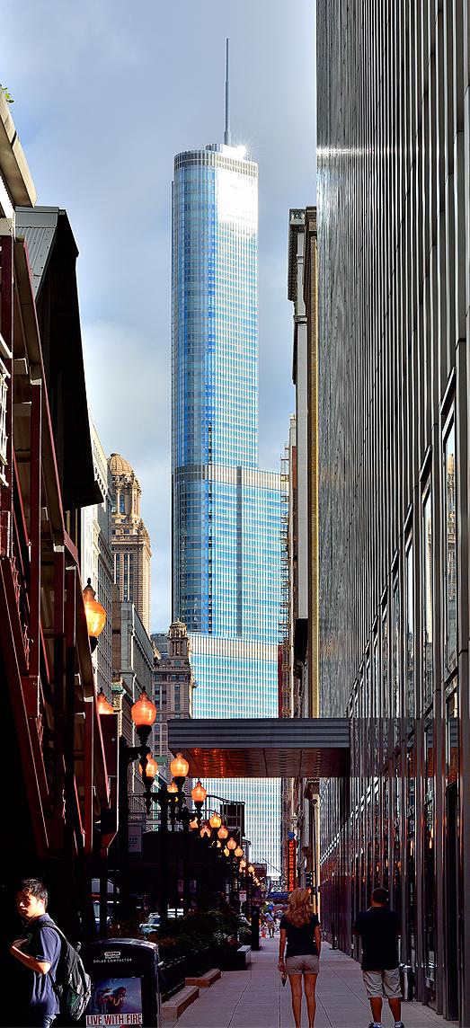 Trump Tower Dazzles