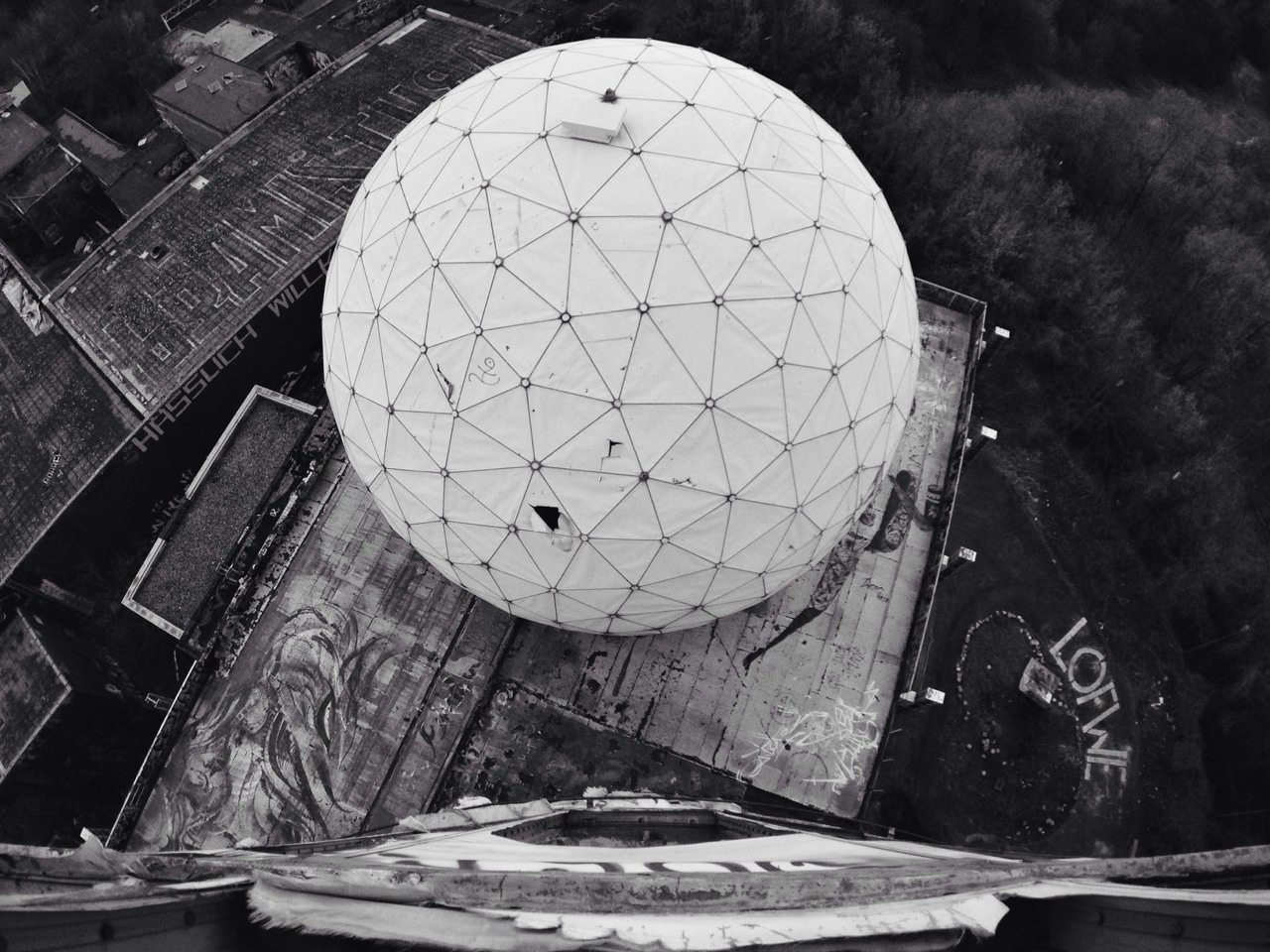 The infamous abandoned NSA Listening Station on Devil's Mountain, Berlin || #Berlin