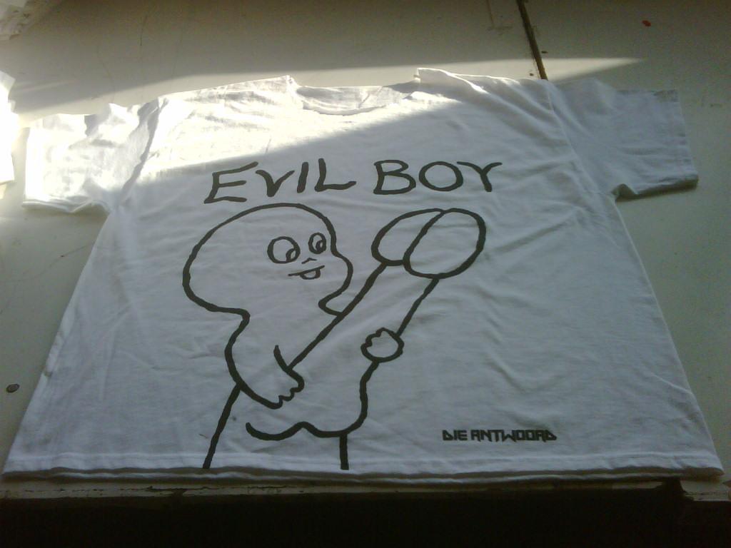 Evil Boy - we get to print cool shit!
