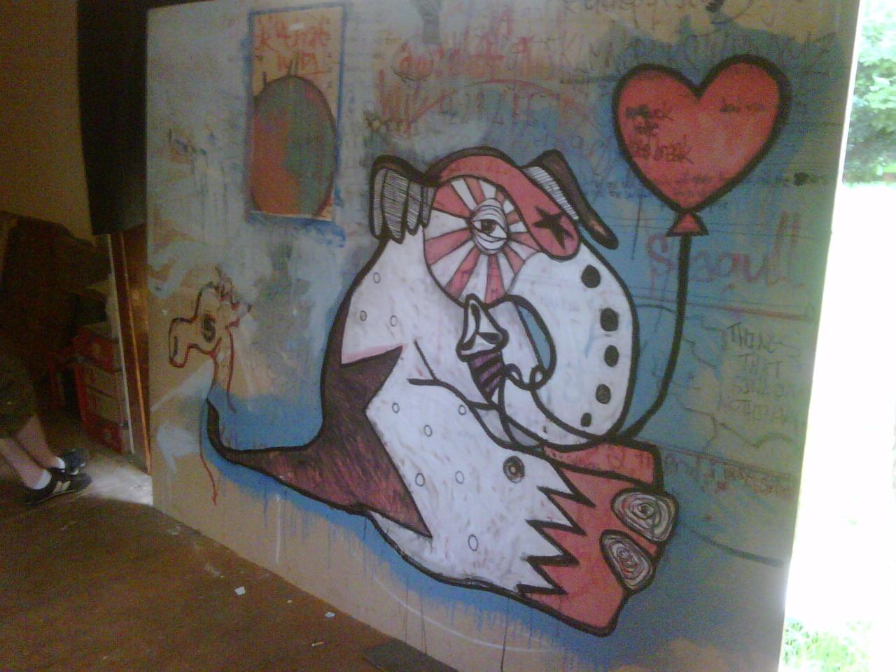 My house mates art