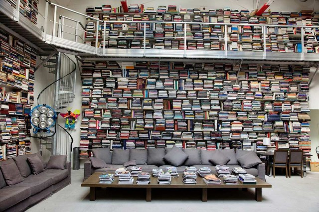 One day i want to have read enough books to warrant a library like this.