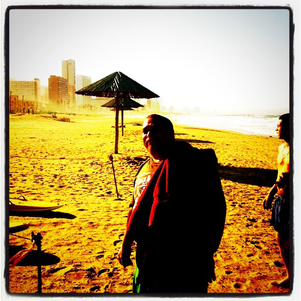 Okes on the beach (Taken with  instagram )