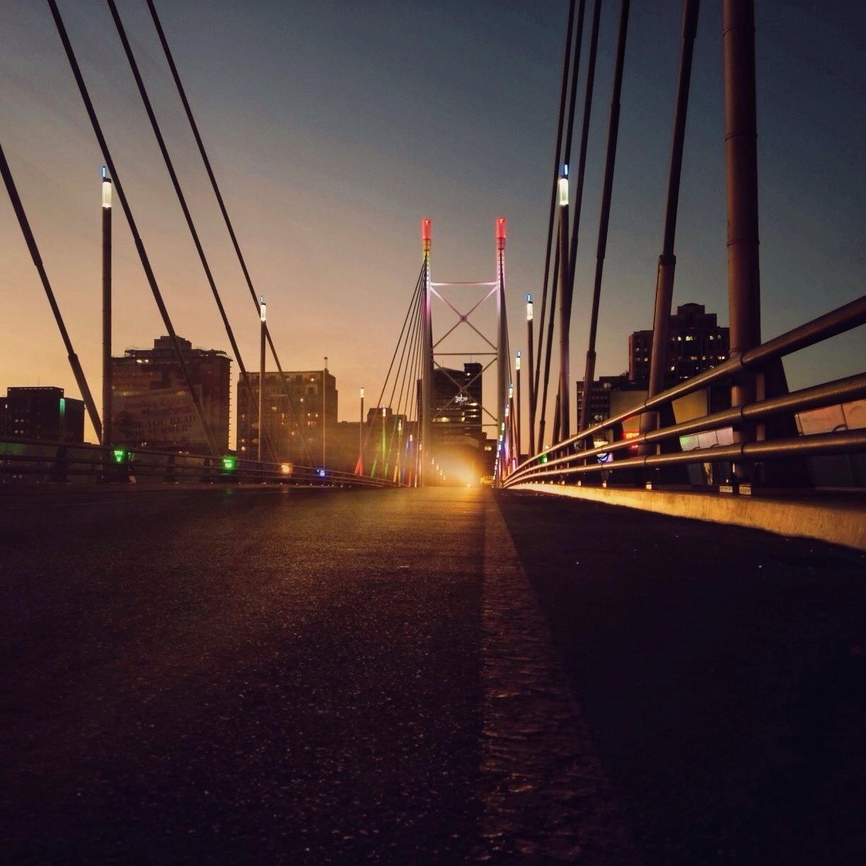 Ghosts on Nelson Mandela Bridge || #lovejozi #southafrica #madiba #nelsonmandela #viva