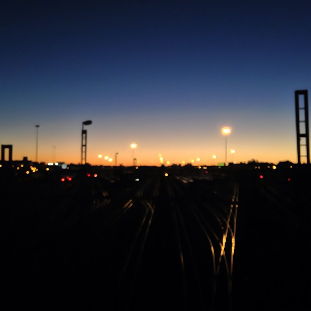 Evening Jozi (at Nelson Mandela Bridge)