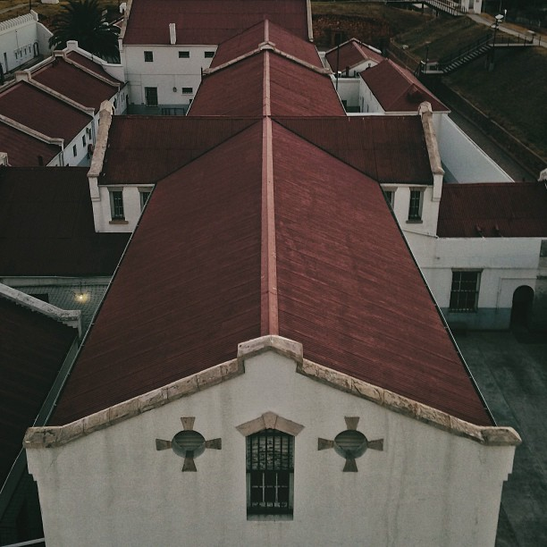 Old Fort Prison Complex || #picarus_farewell #instameet #lookingdown (at Constitution Hill)