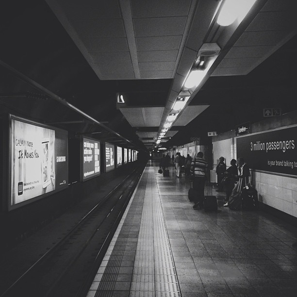 Gautrain || Subway (at Gautrain Rosebank Station)