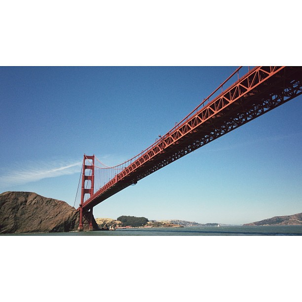 The Legendary Golden Gate Bridge | San Francisco | #16x9fordays #LeviStraussSA_UStour #501sForAfrica  (at Golden Gate Bridge)