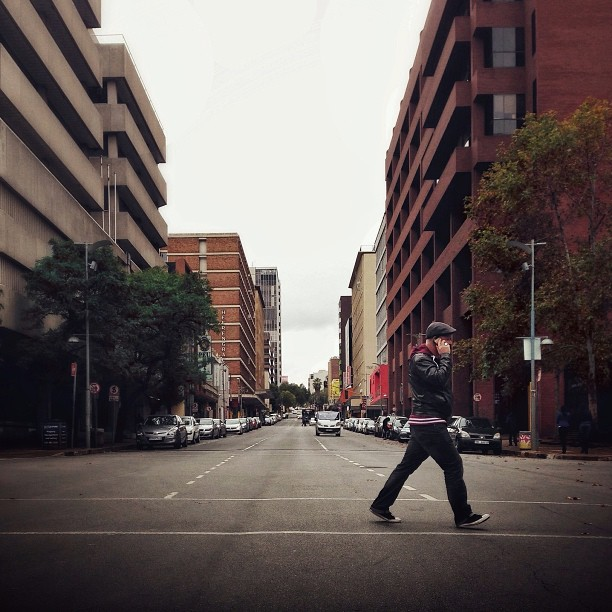 Jaywalking #501s style in the streets of Jozi @LeviStraussSA | Photo Credit: @thobanj  (at Braamfontein)