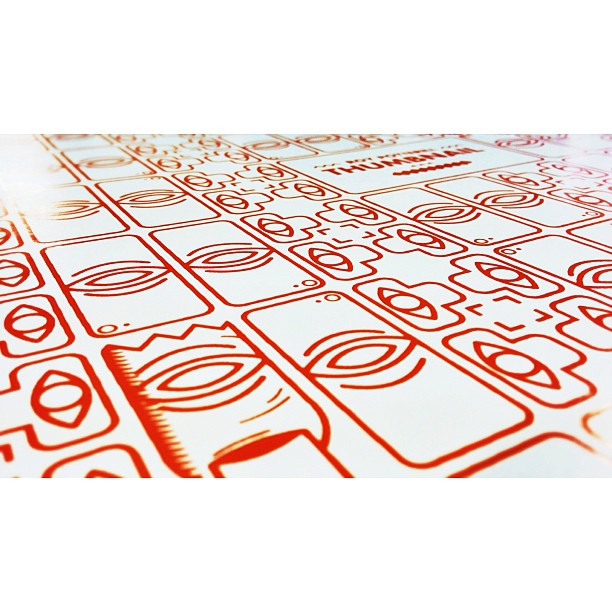 THUMBNAIL | Sneak peak, boards screen printed by hand.  (at Lomography Embassy Store)