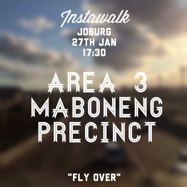 Excited for today's walk. All welcome iphone, android, DSLR or eyes, Come as you are. Lets just explore this city we call home :) (at The Maboneng Precinct)