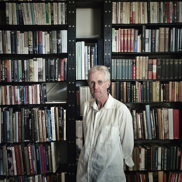 Met this man today | Kevin Shenton | And his incredible library | What a pleasure.