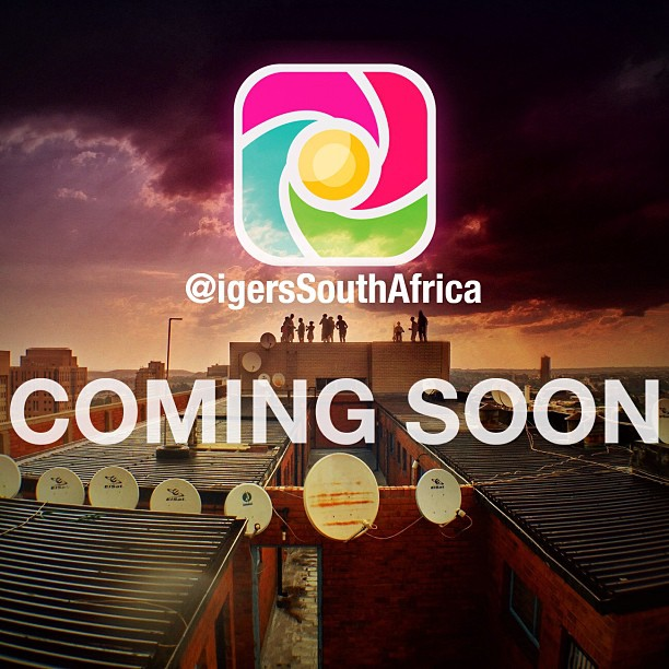 The exciting launch of @igersSouthAfrica is just on our door step! We can expect to see more and more coming from our local South African community including local features, interviews, events, instameets and more! Be sure to follow the official @igersSouthAfrica account and also your local city account @igersJozi, @igersPretoria, @igersCapeTown, @igersDurban and @igersGrahamstown!    Keep your eyes on the local accounts this weekend for some exciting news! (at Johannesburg)
