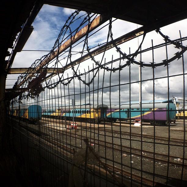 Train Wreck | #woodstock #capetown  (Taken with  Instagram  at Woodstock)