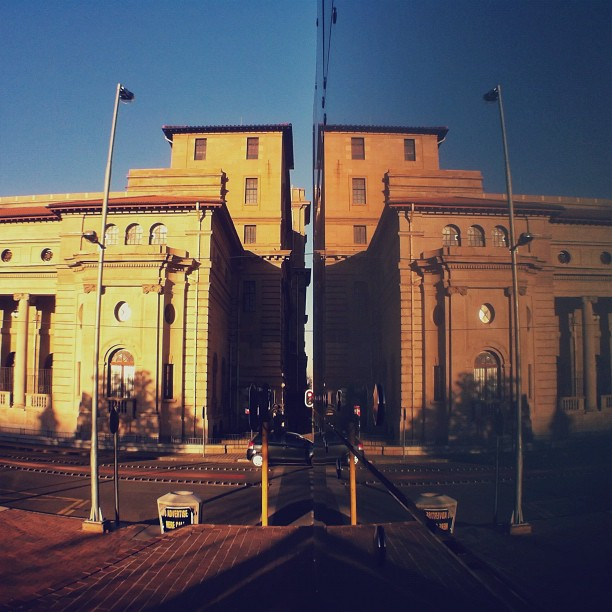 Time for reflection | (Taken with  Instagram  at Johannesburg City Hall)