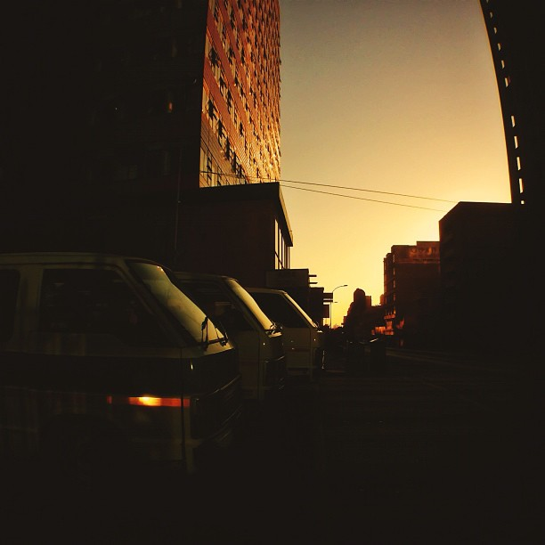 Taxi Racing | Subtle Sunset  (Taken with  Instagram  at Johannesburg)