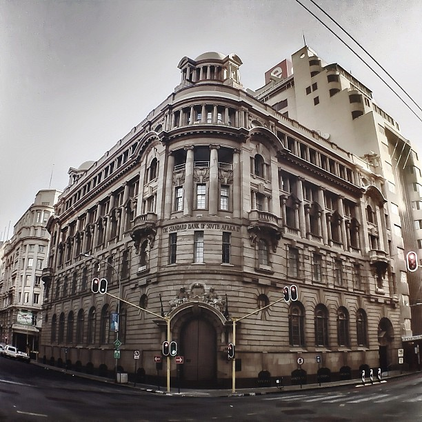 This probably my favorite building in the #johannesburg CBD |  (Taken with  Instagram  at Standard Bank)