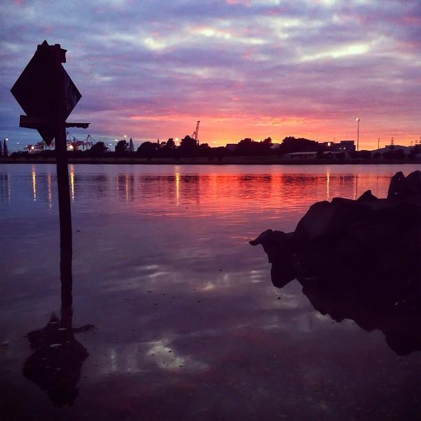 Sunrise at the harbor | #Sunrise (Taken with  Instagram  at Sulphur Point Marina)