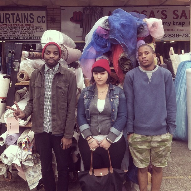 Breakfast Club at the Oriental Plaza | @antheaknowsbest @sneakertongues & Andile (Taken with  Instagram  at Oriental Plaza)