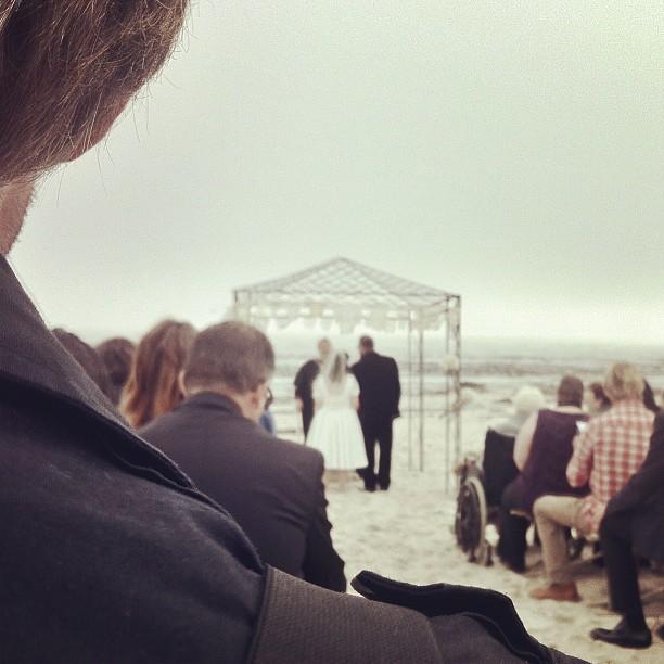 #latergram | Lamberts Bay Wedding (Taken with  Instagram )
