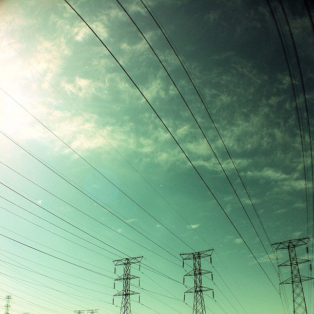 #electricsky for weekend hashtag project. (Taken with  Instagram  at Vilakazi, Soweto)
