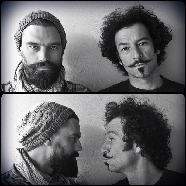 Beard Vs Moustache | The Brr Vs Yiull (Taken with  Instagram  at 70 Juta Street)