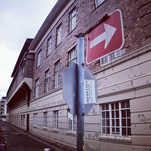 One way town - #instawalkjhb (Taken with  Instagram  at Marshaltown)