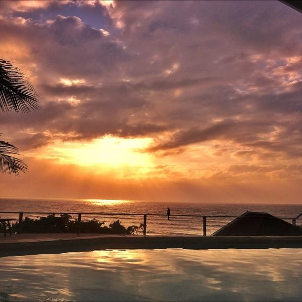 #latergram #sunrise #hornbill (Taken with  Instagram  at Zinkwazi Beach)
