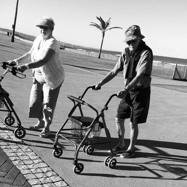 Last walk - #candid #streetphotography  (Taken with  Instagram  at Durban Beachfront)