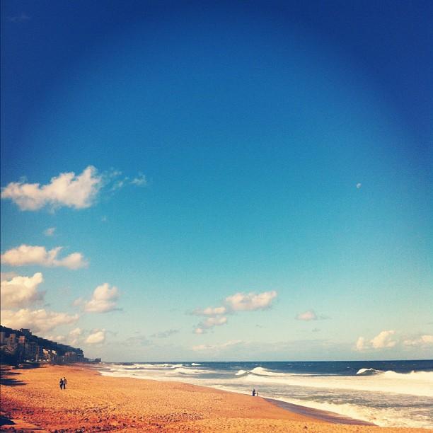 Hello Durban (Taken with  Instagram  at Umdloti Beach)