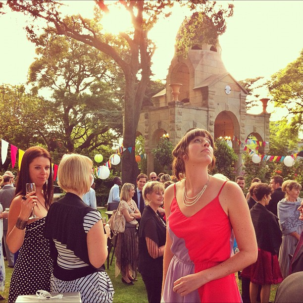 Snap shots @ Sian & Greg's wedding… (Taken with  Instagram  at Shepstone Gardens)