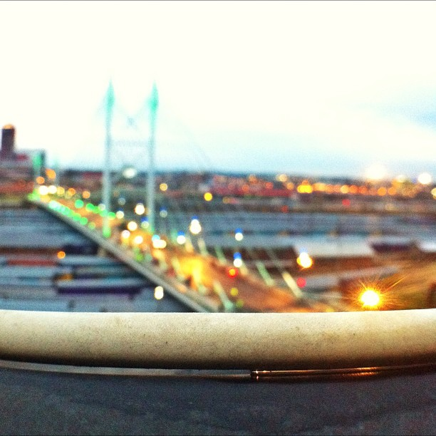#latergram (Taken with  Instagram  at Nelson Mandela Bridge)