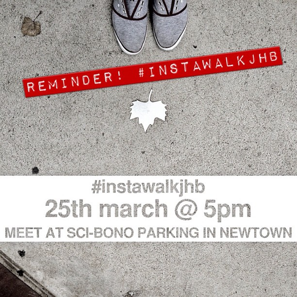 Just a reminder mini #instwalkjhb - All cameras welcome :) (Taken with  Instagram  at Sci Bono Discovery Centre)