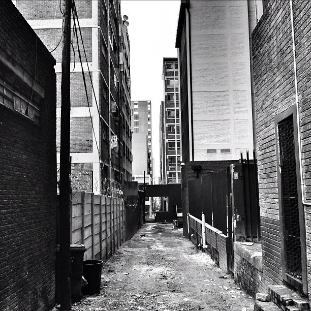 Rainy days - Braamfontein  (Taken with  instagram )
