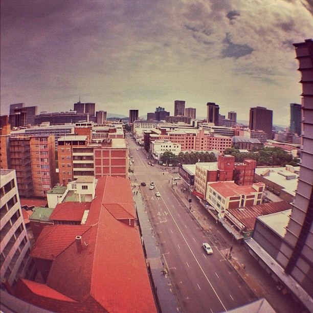 #instawalkpta - #rooftopping  (Taken with  instagram )