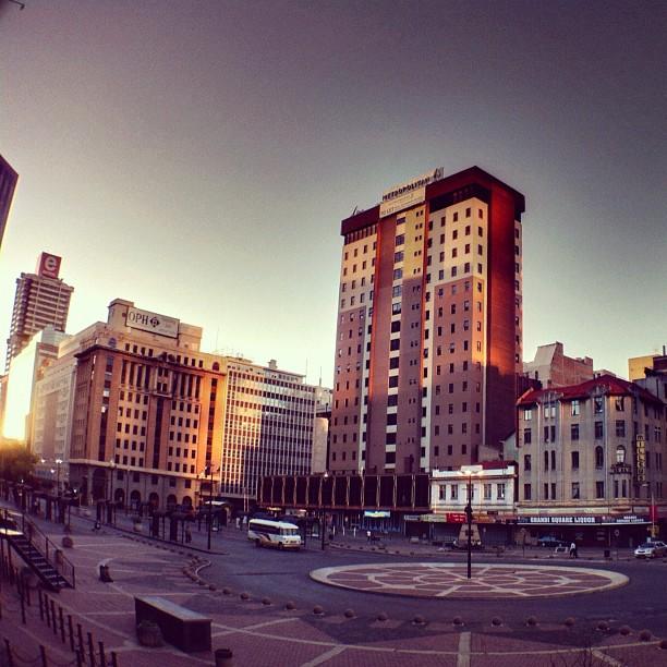 #instawalkjhb - Ghandi Square (Taken with  Instagram  at Gandhi Square)