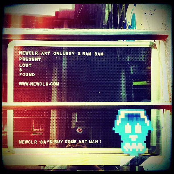 #newclr says buy some art, man! #bambam (Taken with  instagram )
