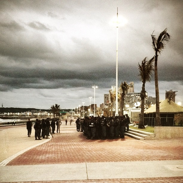 #17COPS (Taken with  Instagram  at Durban Beachfront)