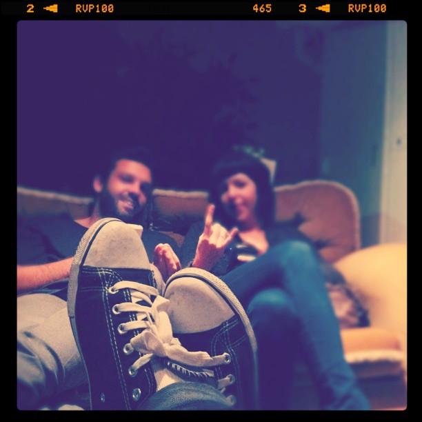 @greglomas & Jules (Taken with  instagram )