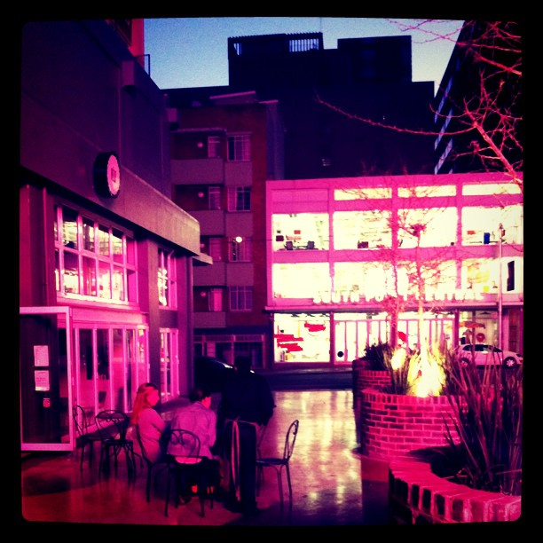 Dinner in Braamies is rad! (Taken with  Instagram  at The Grove)