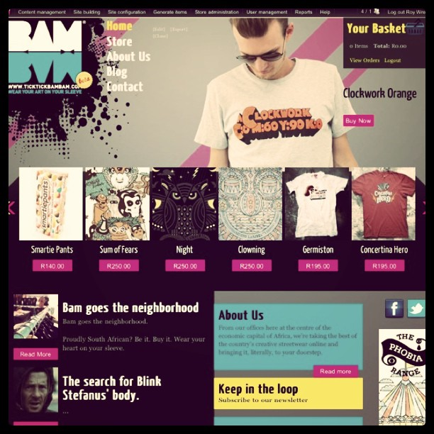 So my Online Store went live today! Check it out:  www.ticktickbambam.com  (Taken with  instagram )