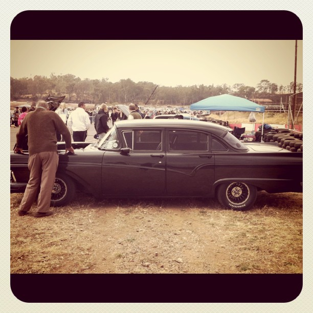 Best car @ #carsinthepark gangsta #v8 (Taken with  instagram )
