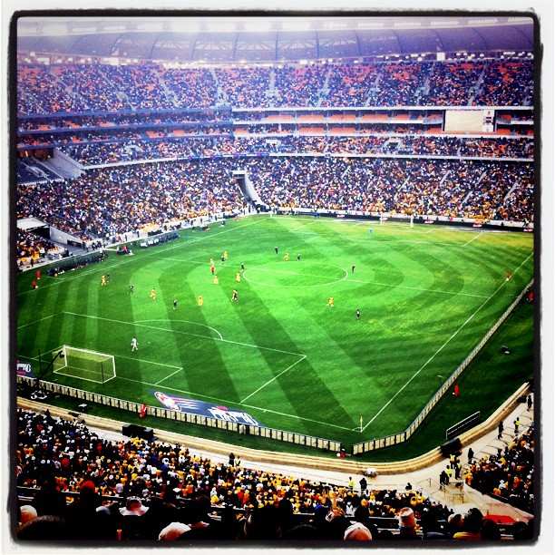 Soccer Hooligans (Taken with  Instagram  at Soccer City Soccer Stadium)