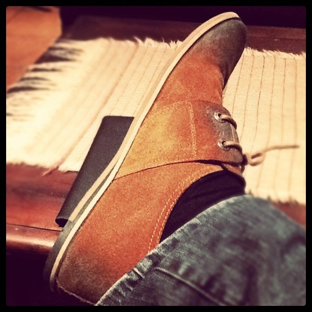 My shoes are cooler than yours.. (Taken with  instagram )