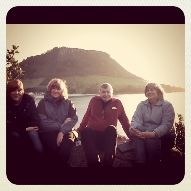 Family (Taken with  Instagram  at Rabbit Island)