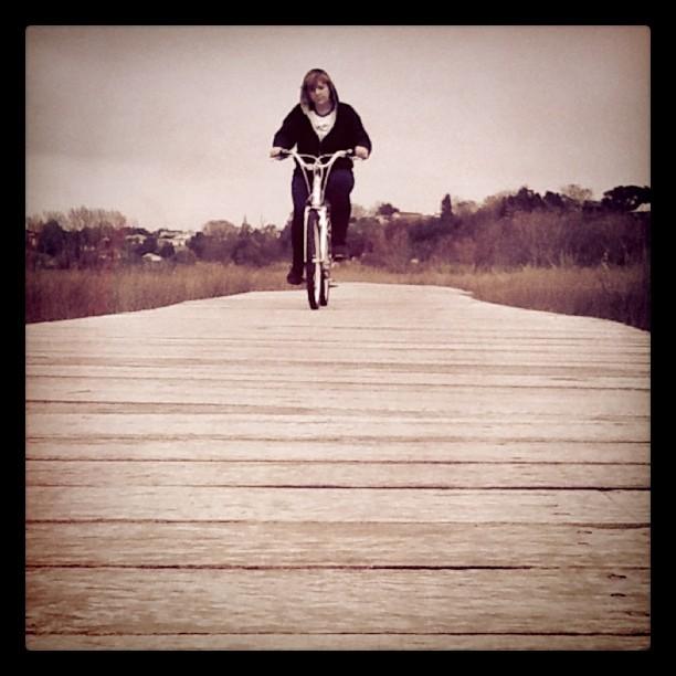 Boardwalk Bike Ride (Taken with  instagram )