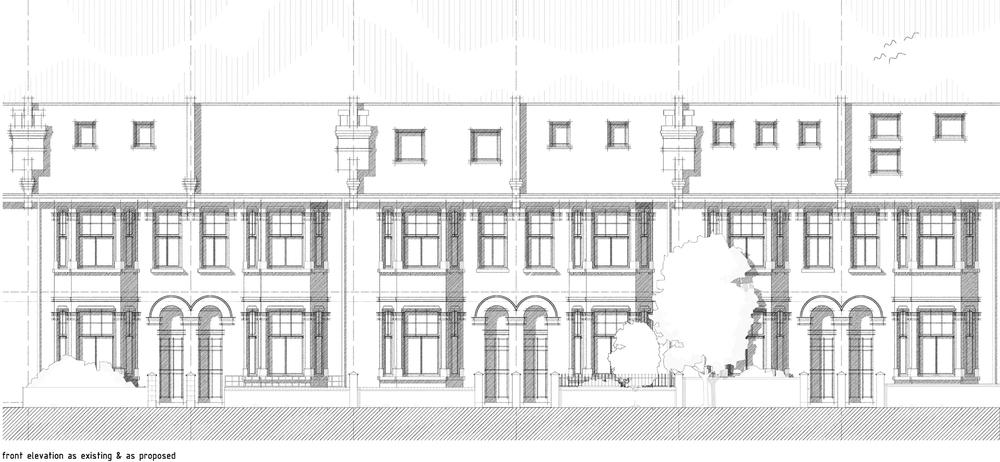 115 Hydethorpe Road, Balham, London, Front Elevation