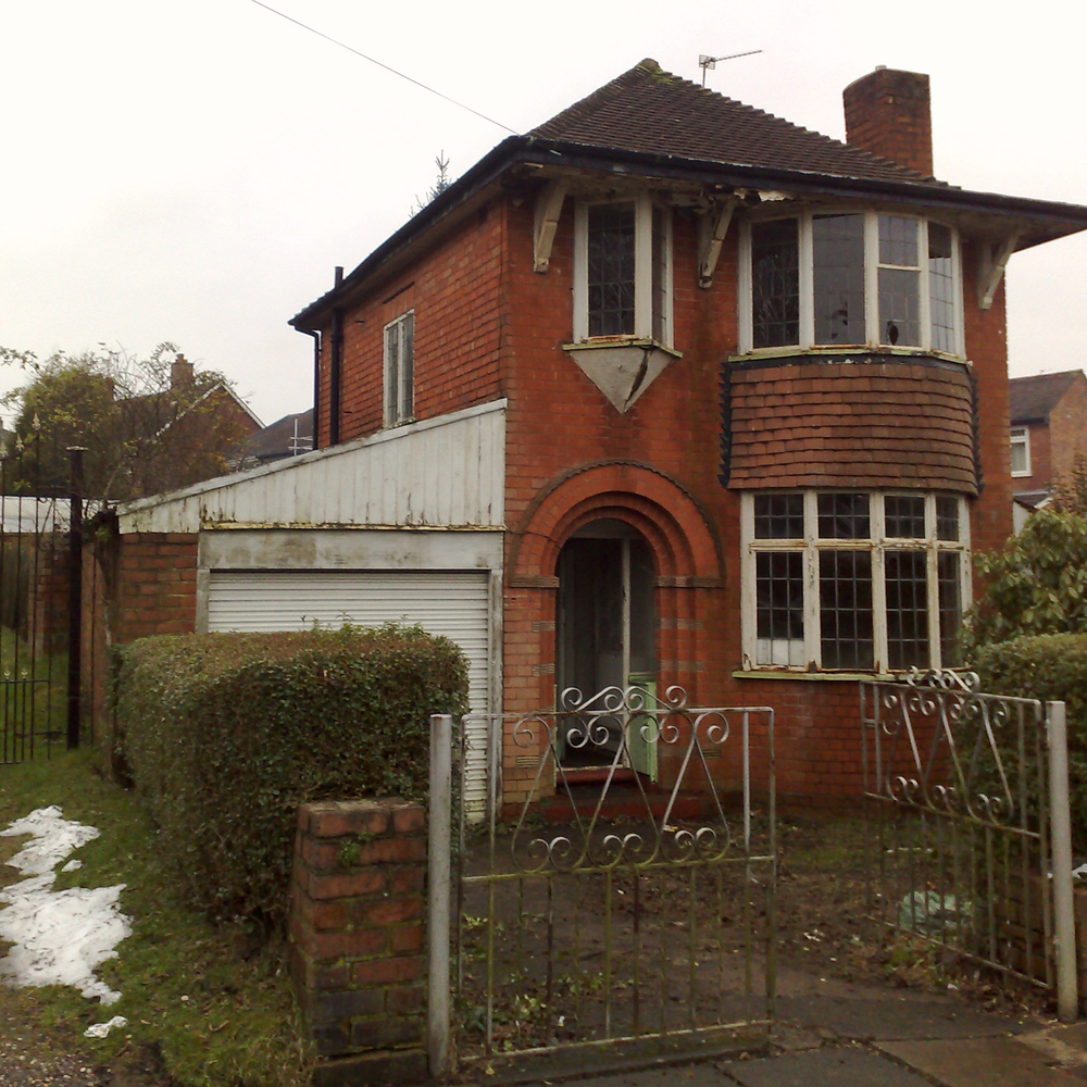 Side and loft extension to 1930 s home quinton for House 1930s garden design